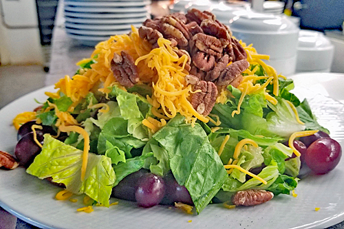 Apple Cheddar Pecan Salad